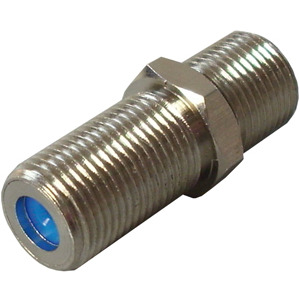 HFVBAB, F-Verbinder, F-Buchse auf F-Buchse, lange Ausführung