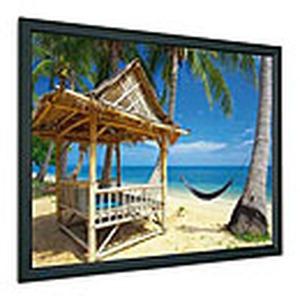 Rahmenbildwand, Format:  á16:9, Außenmaß: 185 x 316 cm, Nutzmaß: 169 x 300 cm, Tuchsorte: Mattweiß