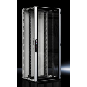 VX 5307.124, VX IT, geschlossen, 19-Profilschienen standard,RAL7035,BHT 800x2000x800mm, 42HE