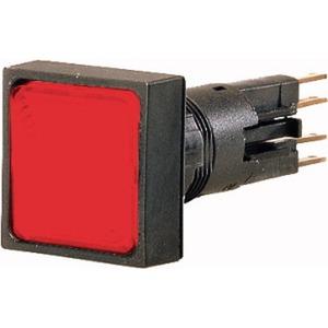 Q18LH-RT/WB, Leuchtmelder, hoch, rot, + Glühlampe, 24 V