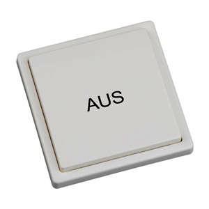 RTS08E5001-01-02K, Wandtaster Easywave 868 MHz 1-Kanal Aus weiß