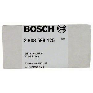 Adapter für Diamantbohrkronen, Adapter f.Diamantbohrkronen, Maschinenseite5/8Zoll x16UNF,Kronenseite1/2Zoll BSP