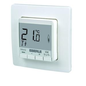 FIT np 3R / weiß, UP-Thermostat als Raumregler, AC 230V, 1S, 10 A, Hinterleuchtung weiss