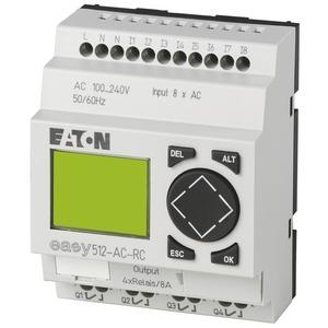 EASY512-AC-RC, Steuerrelais 230 V AC 8 Eing./4 Relaisausg., EASY512-AC-RC