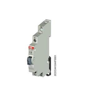 E217-16-10B, Leuchttaster Weiss 16A 1S 250VAC mit LED 115-250VAC