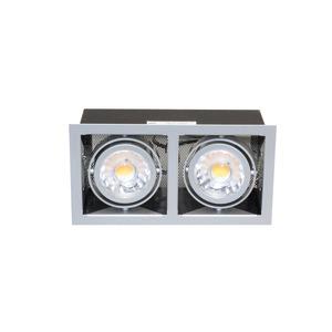 LED Mini Kardan E2 Set 7W titan-matt warmweiß 38°, LED Mini Kardan E2 Set 7W titan-matt warmweiß 38°