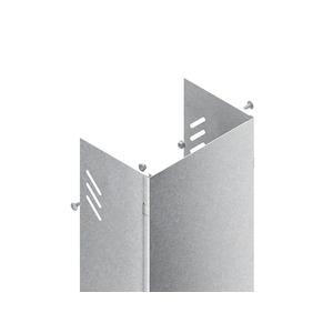 STVW 600 S, Steigetrassenverkleidung, 203x609x3000 mm, für STL/STM, Wandmontage, Stahl, bandverzinkt DIN EN 10346, inkl. Zubehör