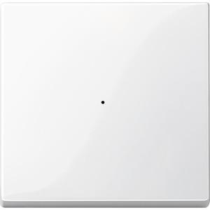 Wippe für Tastermodul 1fach, polarweiß glänzend, System M