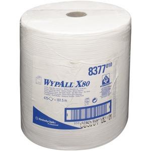 Wischtücher WYPALL X80 weiß 31,7x42cm 475 St