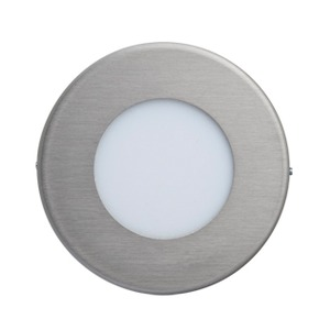LED-Wandeinbaul.230V Edelst.,1,2W,LF:cw