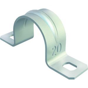 605 21 G, Befestigungsschelle zweilappig 21mm, St, G