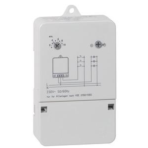 Rex Treppenlicht-Zeitschalter, 30 V, 50/60 Hz - Zeitbereich 0,5–10 min - 1 Schließer 250 V/50 Hz, 10 A~ ohmsch