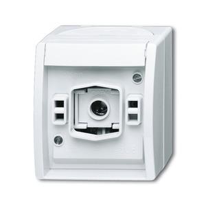 2661 W-54, Lichtsignal 2661 W-54 mit Schraubklemmen, ohne Haube, ohne Lampe IP44