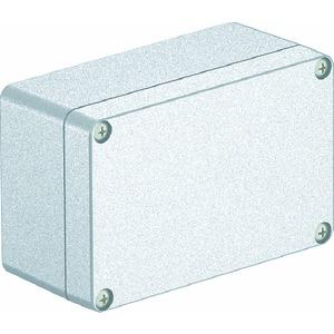 Mx 161008 CR3, Aluminiumleergehäuse mit beschichtbarer Oberfläche 160x100x81, AlG, Cr3
