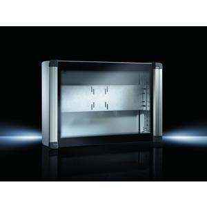 CP 6321.000, Bediengehäuse für Tisch-TFT bis 24, BHT 650x450x155mm, 1 Vorreiberverschluss