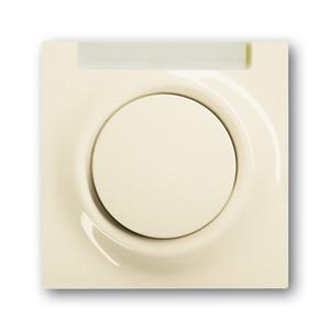 1781-72, Zentralscheibe, elfenbein/weiß, impuls, Abdeckungen für Schalter/Taster