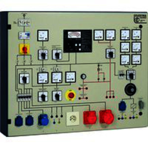 PST 7E-LCD, Prüftafel mit eingebautem;Meßgerät GE