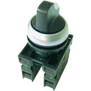 M22-WRK/K10, Wahltaster M22-WRK/K10, 1 Schließer, 2 Stellungen, Front, Zubehör für Meldegerät