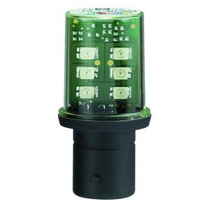 LED-Lampe, weiß für Befehls- u. Meldegeräte, BA 15d, 24 V