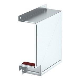 BSKM-FW 1025, Flachwinkel für Wand- und Deckenmontage 100x250, St, FS