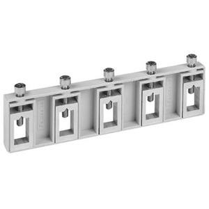 ZX451, Sammelschienen-Verbinder 5 polig für Cu 12 x 5 mm
