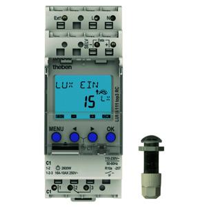 LUNA 111 top3 EL, Dämmerungsschalter mit Einbau-Lichtsensor, 1 Kanal