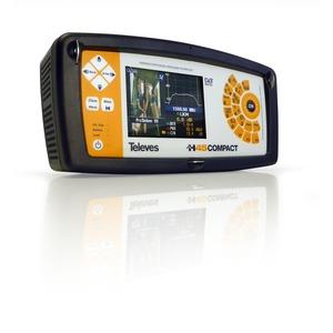 H45-Compact-Evolution mit MPEG4, DVB-S2,DVB-T, DVB-C, RK, CI mit optischem Receiver selektiv