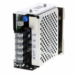 S8JX-G05024CD, Schaltnetzteil, Metallgehäuse, 50 W, 100 bis 240 VAC Eingang, 24 VDC 2,1 A Ausgang, geschlossene Bauform, DIN-Schienenmontage
