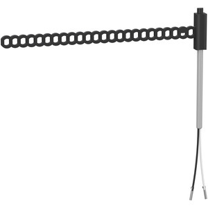 TM1STNTCTN62030, Temperatursensor, Modicon M171/M172, NTC, -50…+110 °C, IP68, 6x20 mm, Bandbefestigung, grau, 3 m