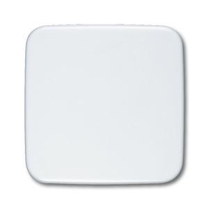 2546-214, Wippe mit neutralem Symbol, alpinweiß, SI/Reflex SI, Abdeckungen für Schalter/Taster