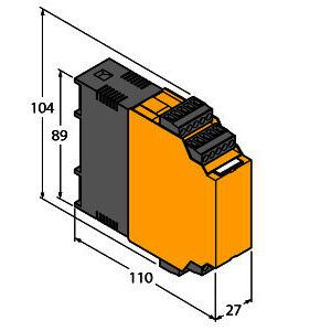 IM1-451EX-R, Trennschaltverstärker, 4-kanalig, TÜV 04 ATEX 2604