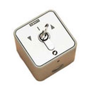 Für alle elektrischen Leinwände, Lifte, Jalousien, etc. 230 VAC, 2-polig für Auf-/Ab-Steuerung, Aufputz