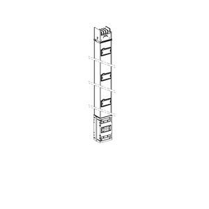 KSA gerades Element, 800A, 2m, 3Abgänge, einseitig