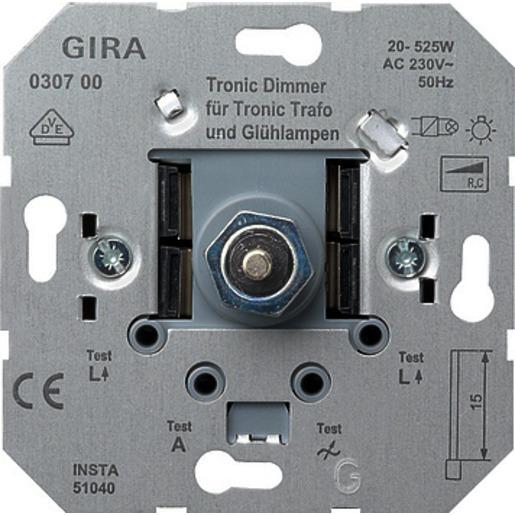 GIRA Tronic Dimmer-Einsatz 030700