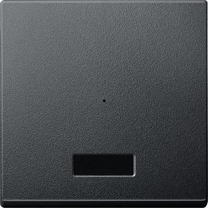 Wippe für Taster-Modul 1fach mit IR, anthrazit, System M