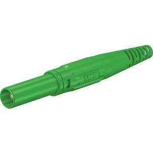 XL-410, 4mm Sicherheits Stecker grün