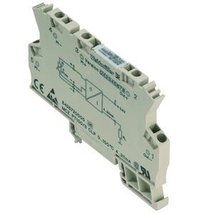 MCZ PT100/3 CLP 0...300C, Temperaturmessumformer, 2-/3-Leiter Anschlusstechnik, ausgangsstromschleifengespeist, Zugfederanschluss