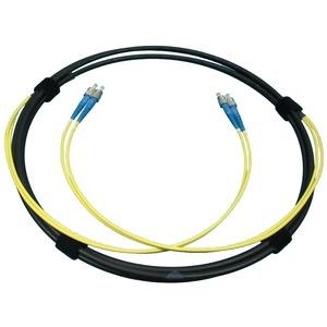 AOFE 300, 300 m optisches Twinkabel, mit 4 FC/PC Steckern konfektioniert, für innen und außen, GI-5.75 geschirmt (in Verbindung mit SBF, AOE…, AOV Verteilmateri