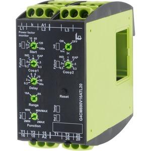 G4CM690V16ATL20, Leistungsfaktorerfassung (cos phi) in 1- oder 3-Phasennetzen