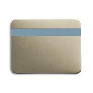 6815-260, Busch-Komfortschalter Bedienelement, palladium, alpha, Bedienelemente für Bewegungsmelder/Komfortschalter