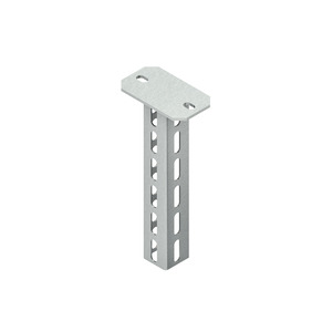 HU 5050/300, Hängestiel, U-Profil, 50x50x300 mm, Stahl, feuerverzinkt DIN EN ISO 1461