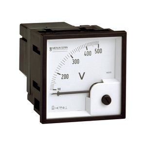 Analoges Voltmeter VLT, 72x72mm, 0-500 V