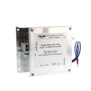 A1000-FIV1040-RE, EMV-Unterbaufilter V1000, 40 A, 200 VAC, 1-phasig, für 4,0 kW-Antriebe