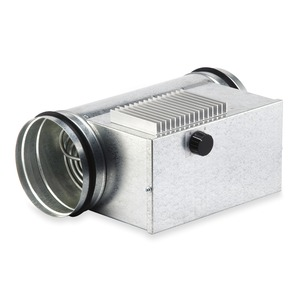 EHR-R 6/250 TR, EHR-R 6/250 TR, Elektro-Heizregister 6,0 KW mit integr. Heizungsregelung, für Rohrdurchm. 250 mm