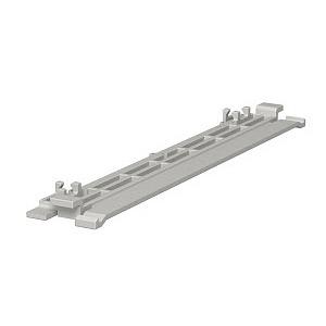 2370 230, Oberteilklammer 230mm, PVC, lichtgrau, RAL 7035