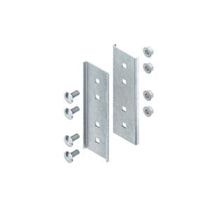 VBI 80, Längsverbinder für Profil I 80, Stahl, feuerverzinkt DIN EN ISO 1461, inkl. Zubehör