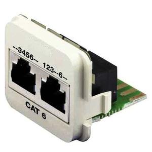 1711804-5, INSERT CAT6a 10/100BT & ISDN /W