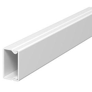 WDKH-15030RW, Wand- und Deckenkanal halogenfrei 15x30x2000, PC/ABS, reinweiß, RAL 9010