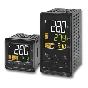 E5EC-CX4D5M-000, Universalregler, 1/8 DIN, Regelausgang 1 stetig 0/4...20 mA, 4 Zusatzausgänge Relais, Universal-Eingang, 24V AC/DC