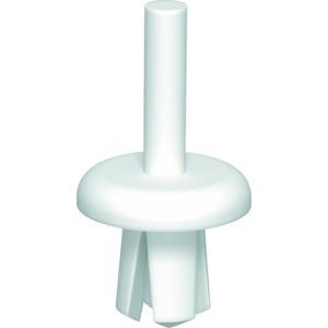 KSN1, Spreizniet Größe 1 Ø 4,5mm, PP, lichtgrau, RAL 7035